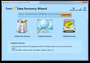 Alte masuri de luat la aparitia badurilor - Data Recovery Wizard Free Edition
