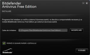 Bitdefender Antivirus Free Edition - Instalare