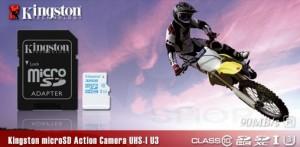 Carduri miniatura performante pentru stocarea datelor - microSD Action Camera UHS-I U3