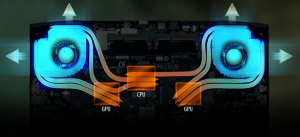 """Cel mai puternic laptop de 15"""" din lume pentru gaming - Sistemul de racire"""