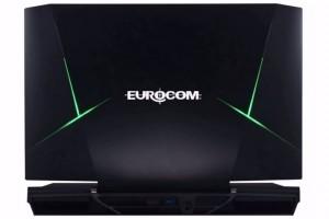 Cel mai puternic laptop realizat vreodata - EUROCOM Sky X9W - vedere din spate