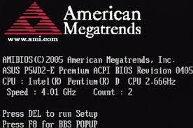 Coduri de eroare furnizate de BIOS AMI