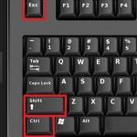 Comenzi rapide executate de la tastatura