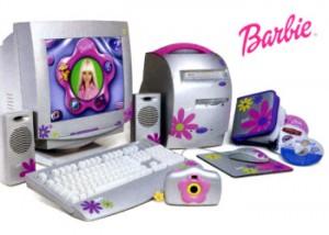 Computere cu infatisare cel putin ciudata - Barbie PC