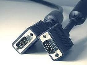 Conectarea laptopului la TV - cablul VGA