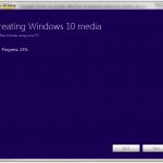 Crearea unui suport fizic pentru instalarea Win10