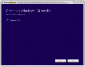 Crearea unui suport fizic pentru instalarea Win10 cu Windows Media Creation Tool - Crearea fisierului ISO