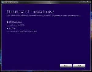 Cum sa faci un stick bootabil cu Windows 10 - Alegere suport sau imagine