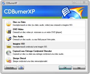 Cum sa inscriptionezi un DVD cu CDBurnerXP