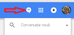 Cum sa utilizam eficient Hangouts - Pozitionarea in Inbox by Gmail