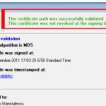 Cum se verifica documentul semnat digital