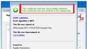 Cum se verifica documentul semnat digital - semnatura si certificat valide