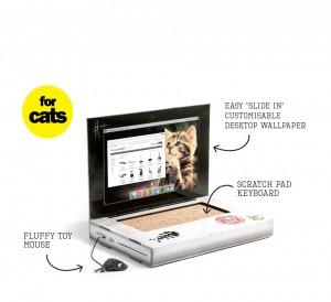 Cumpara un laptop pentru pisica ta - Gadget-ul de la Suck.uk
