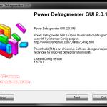 Defragmentarea hardului cu Power Defragmenter