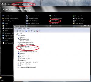 Despre probleme cu camera web - Activare sau dezactivare din Device Manager
