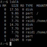 Diverse considerende despre nivelele RAID in Linux