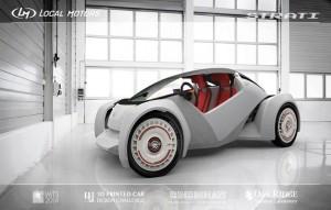 Imprimante 3D - auto