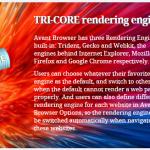 Inca mai cautati un browser bun ?