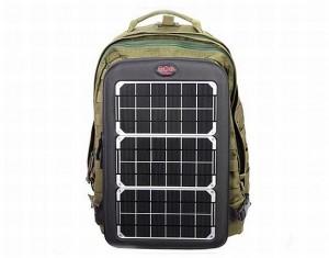 Incarcator deosebit pentru laptop - Incarcator solar pentru laptop - pe rucsac