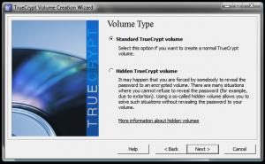 Instalarea si utilizarea TrueCrypt - Alegerea tipului de criptare