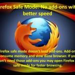 Lansarea in Safe Mode a browserelor