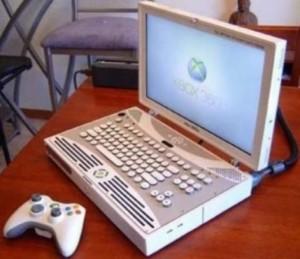 Laptop cu forma ciudata