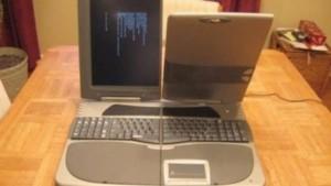 Laptop cu forma ciudata - Xentex Flip-Pad Voyager