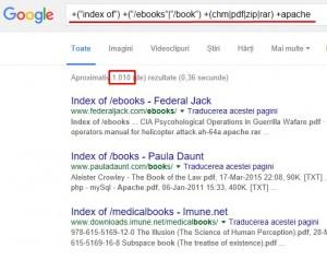 Mici artificii pentru cautarea cu Google - Cautare e-books