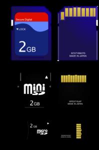 Modele constructive ale memoriei RAM - SD Card