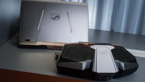 Noutati din lumea laptopurilor pentru gaming - ASUS GX700 - primul laptop racit cu lichid