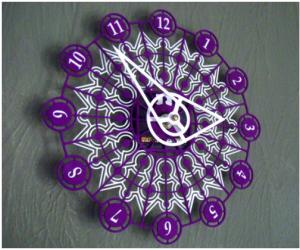 Obiecte care se pot realiza prin printare 3D - Ceas de perete