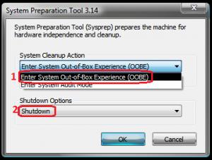 Realizarea imaginii sistemului de operare