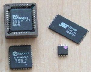 Rescrierea BIOS-ului - Chip-uri cu BIOS