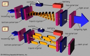 Tehnologii de realizare a ecranelor LCD - Twisted Nematic