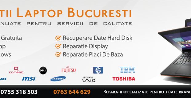 Reparatii Laptop Bucuresti