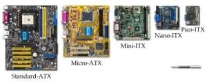 Variante constructive ale placilor de baza ATX