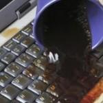 Curatarea lichidelor de pe tastatura laptopului