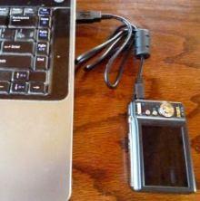 descarcarea pozelor pe laptop