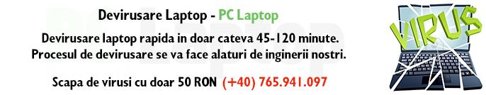 devirusare calculator-laptop