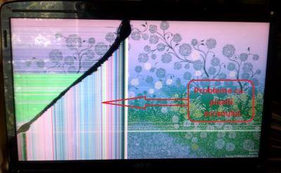 ecran crapat - pixeli