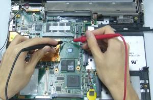 reparatie placa de baza laptop